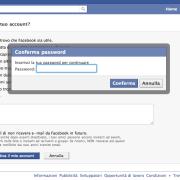 disattivazione facebook