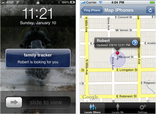 Rendere il vostro iPhone un Telefono Spia con Family Tracker