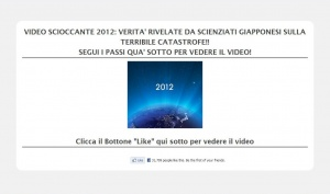 """Bufala Facebook: """"video scioccante 2012: verità rivelate da scienziati giapponesi sulla terribile catastrofe!!"""""""