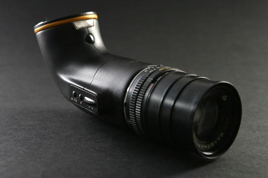 Reflex concept: una DSLR a periscopio by Yaniv Berg