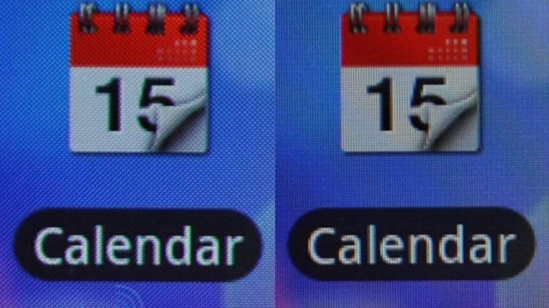Differenze tra il display S-LCD e AMOLED montati su HTC Desire