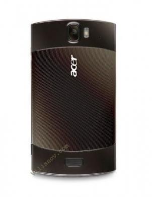 Acer Liquid Metal cover dietro nera che ricorda molto il Nokia N70