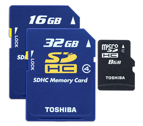 Da Toshiba le memory card più veloci al mondo