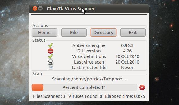 antivirus per Linux installazione semplice completamente gratuito utilizzabile da riga di comando