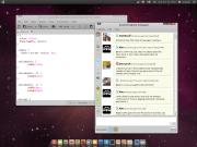 gwibber con font ubuntu