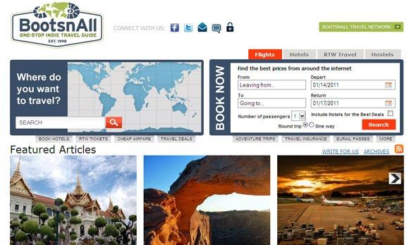 BootsnAll guide turistiche web