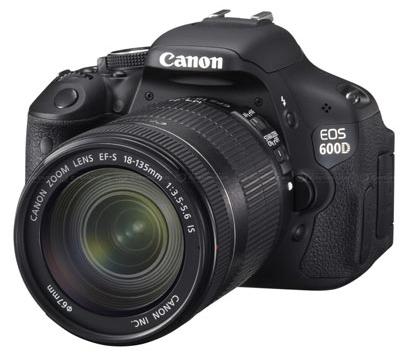 Presentata la nuova Canon EOS 600D