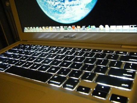 macbook air tastiera retroilluminata