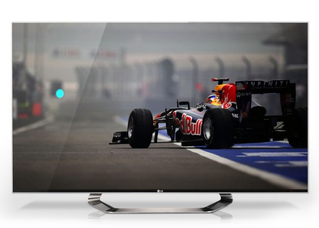 LG LM9600 la HD TV con la Cornice Invisibile