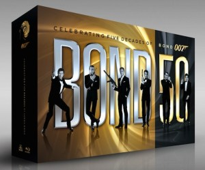 james bond 50 cofanetto speciale anniversario
