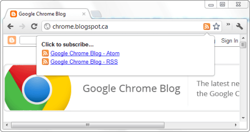 chrome-rss-subscription-extension
