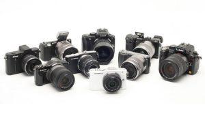Fotocamere mirrorless sul mercato