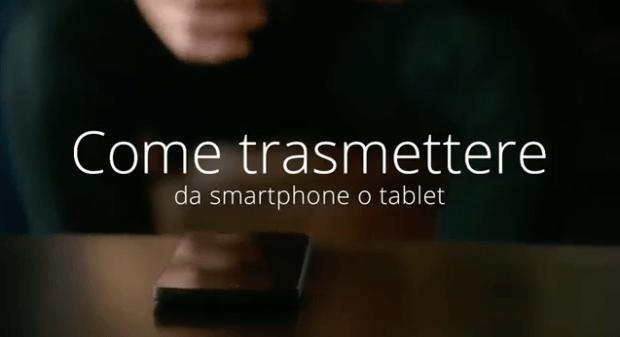 Chromecast, lo Spot Italiano di Google ci Spiega Come Usarla
