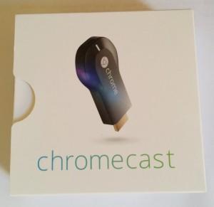 confezione google chromecast