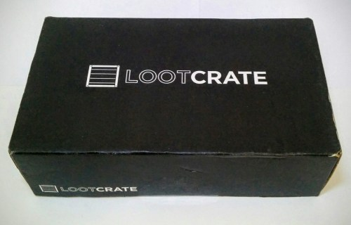 unboxing lootcrate aprile 2016