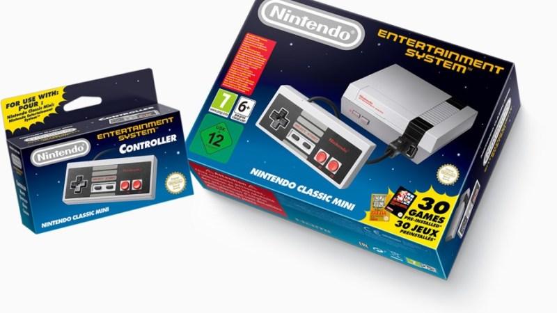 Nintendo è pronta a riavviare la produzione del NES Classic Mini