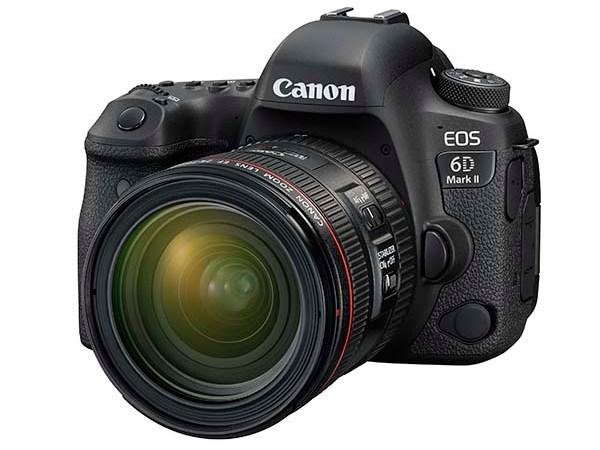 Presentata la CANON EOS 6D Mark II, la nuova reflex full frame Dual Pixel