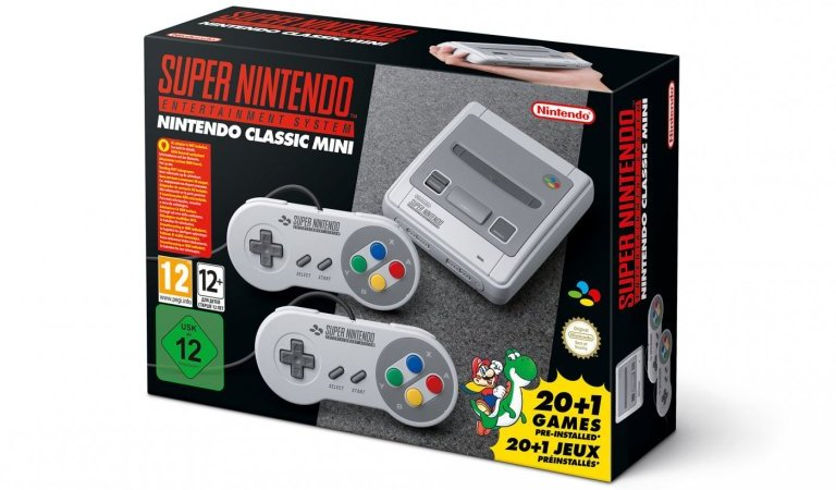 Super Nintendo Classic Mini disponibile per il preordine su Amazon