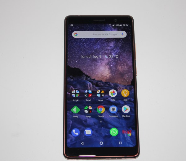 display Nokia 7 Plus