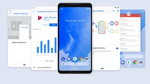 android 9 pie schermate