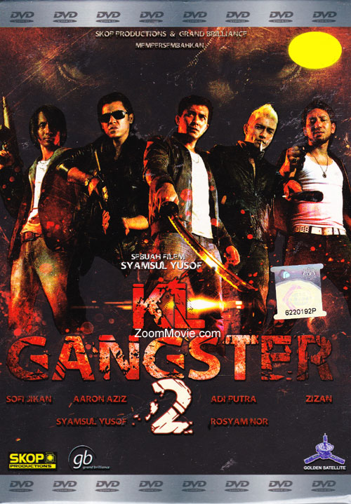 KL Gangster 2 DVD Malay Movie 2013 Cast by Aaron Aziz