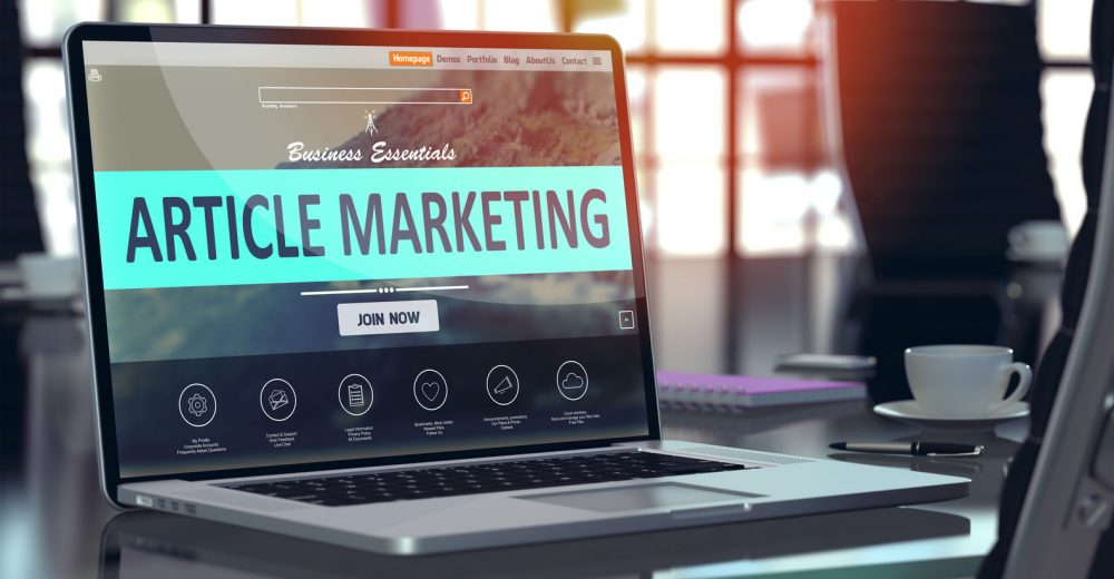 Why Article Marketing Is Important For Your Online