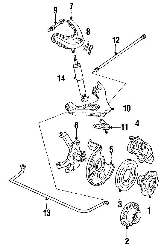 Mazda B2600 Suspension Control Arm (Lower). Left, Causing