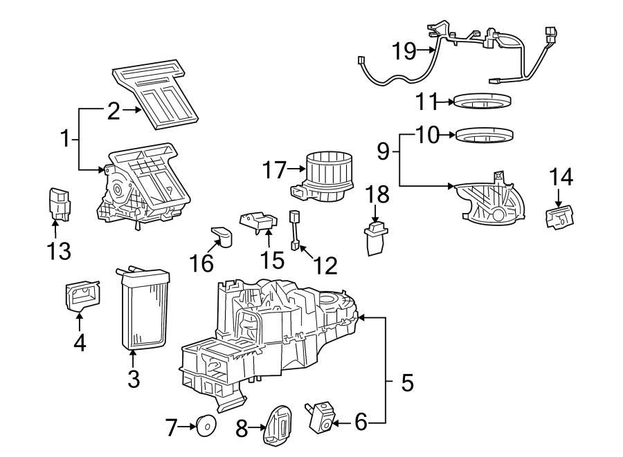 2008 Mazda Tribute i Hvac air inlet door actuator. #1