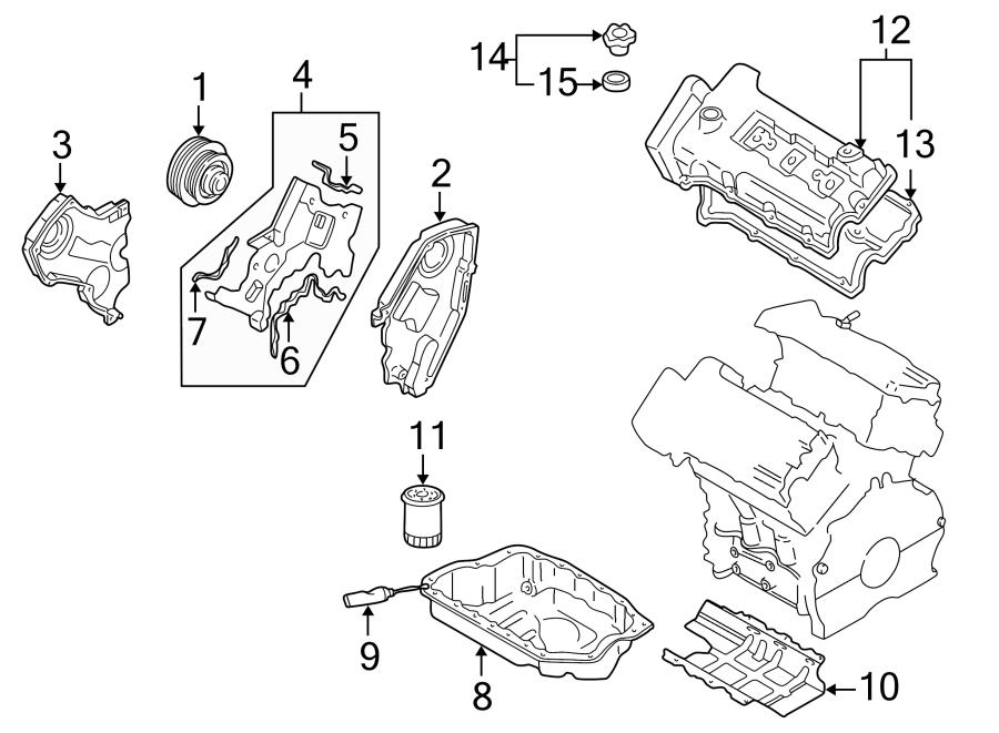 Mazda Millenia Engine Oil Filler Cap. 2.3 LITER. 2.5 LITER