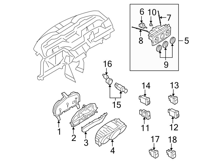 Mazda 3 Hvac blower control switch. Fan, heater, make