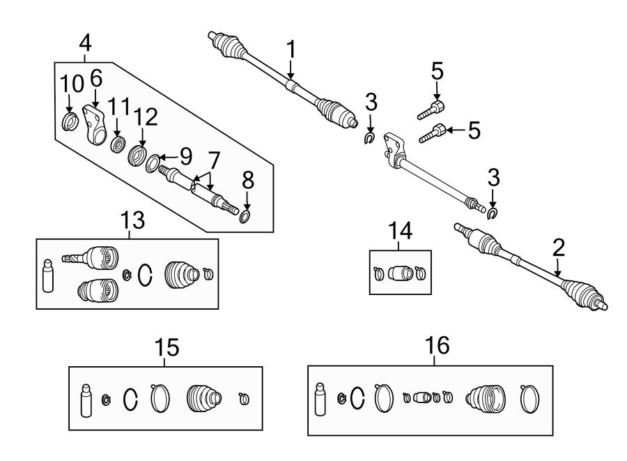 Mazda 3 Clip. Shaft. Ring. Axle. Rightmanual, Rightauto