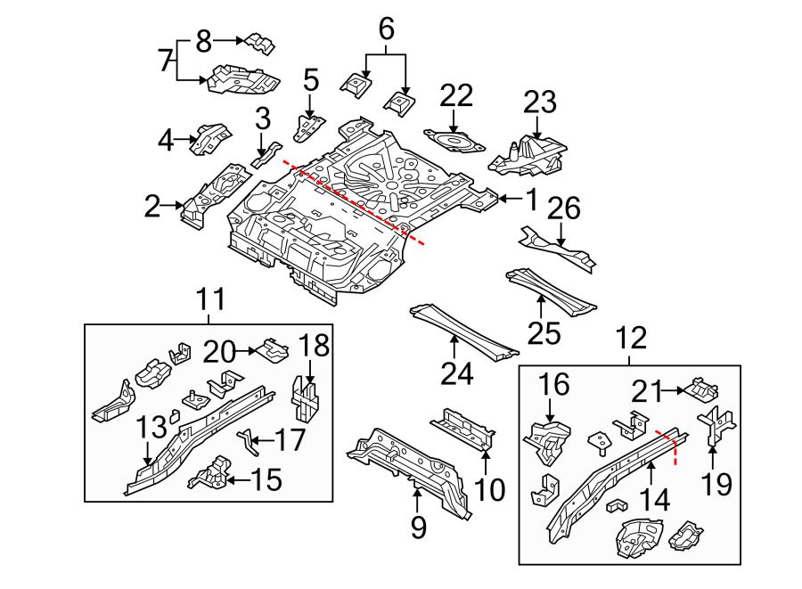 Mazda 3 Parts Diagram 2006 On 2005 Mazda 6 Rear Suspension Diagram