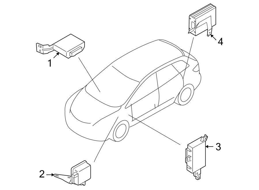 Mazda CX-9 Body Control Module. ELECTRICAL, Make