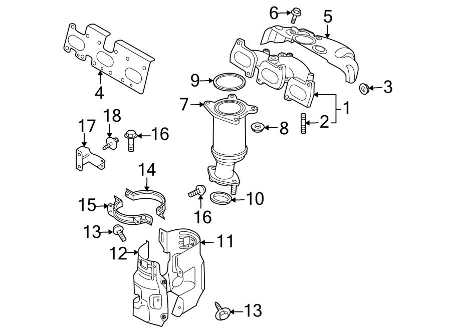 Mazda CX-9 Bolt. 3.7 LITER, FRONT. 3.7 LITER, REAR. FRONT