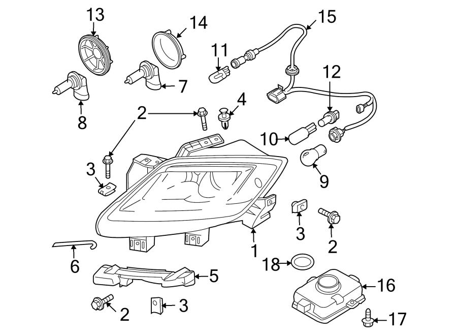 2012 Mazda Headlight. Clip. Rivet. HALOGEN, Headlamp, Assy