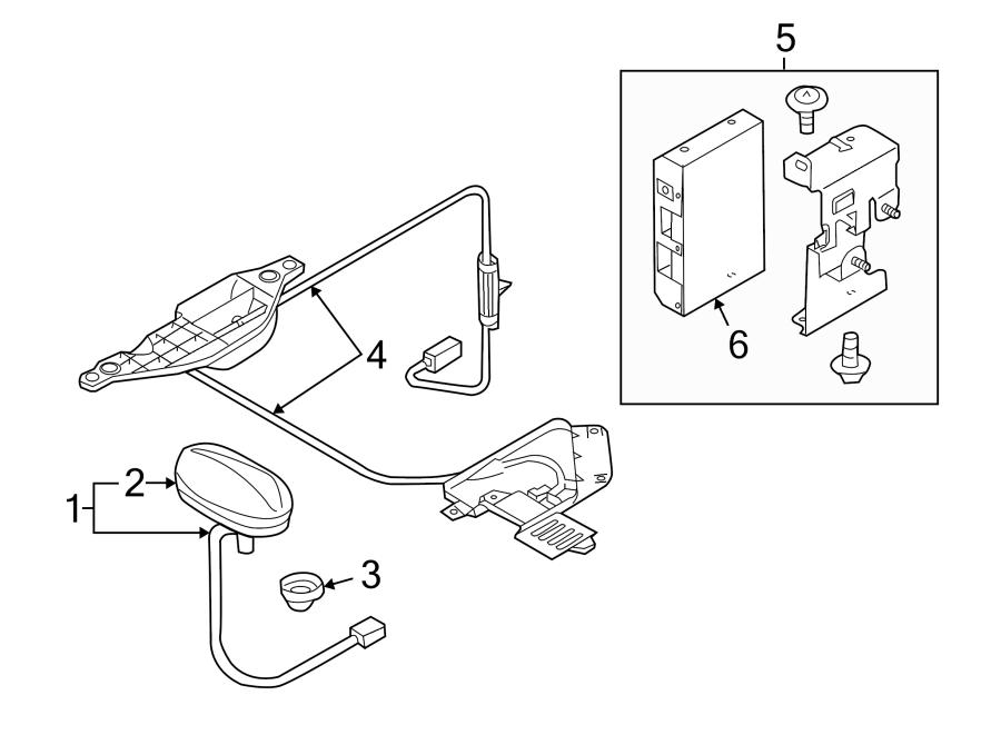 Mazda MX-5 Miata Control. AUTO. Radio. Auto visual