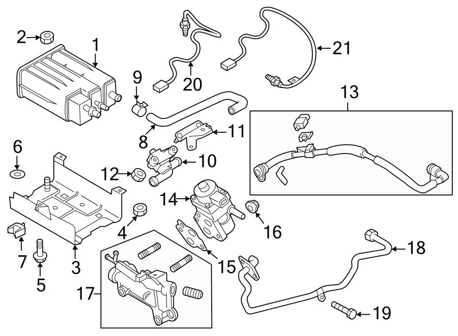 Mazda 3 Vapor Canister Purge Solenoid. EMISSION, SYSTEM