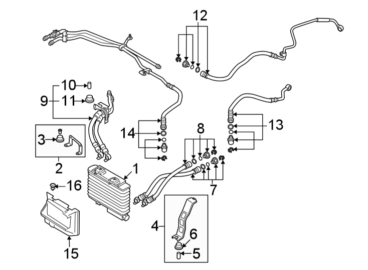 2006 Mazda RX-8 Hose, Oil. AUTO TRANS, 2004-08. MANUAL