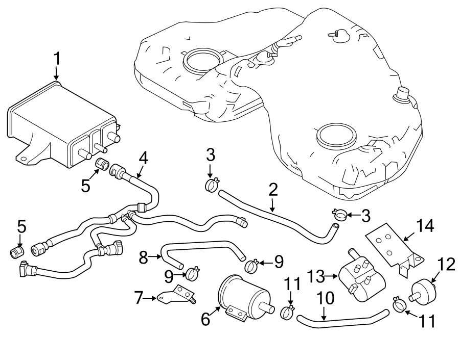 Mazda MX-5 Miata Detection pump. Evaporative emissions