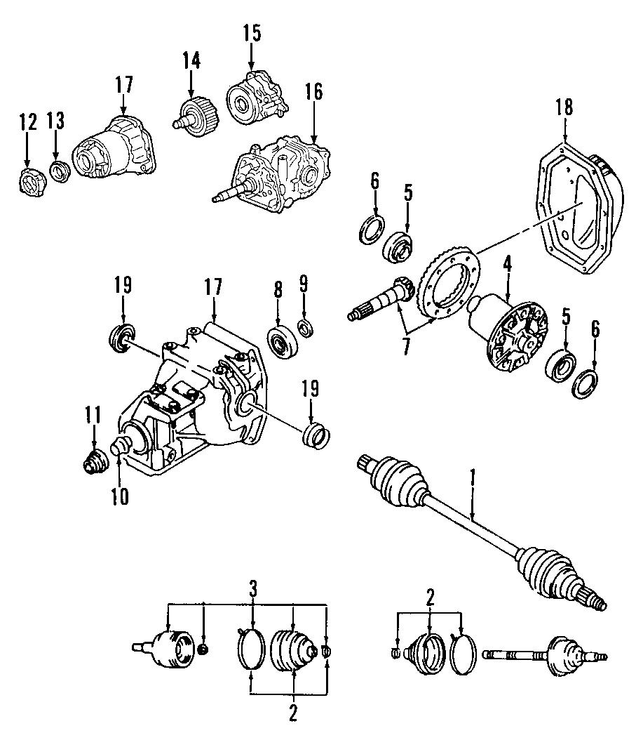 Mazda 6 Seal. Axle. 4WD. CX-7. CX-9. MazdaSpeed6. MPV. W