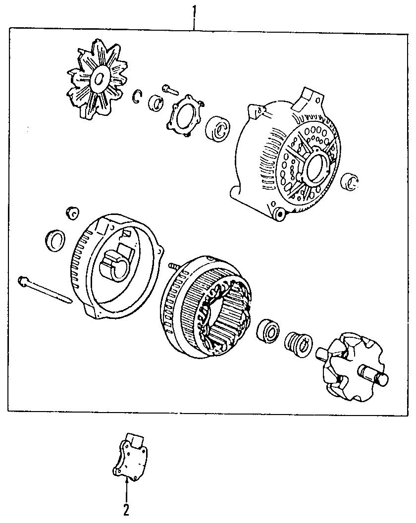 2007 Mazda B4000 Voltage Regulator. B-Series Pick-Up