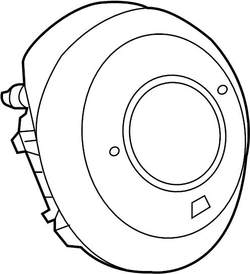 Mazda CX-5 Steering Wheel Air Bag. Inflator, Module, BAGS