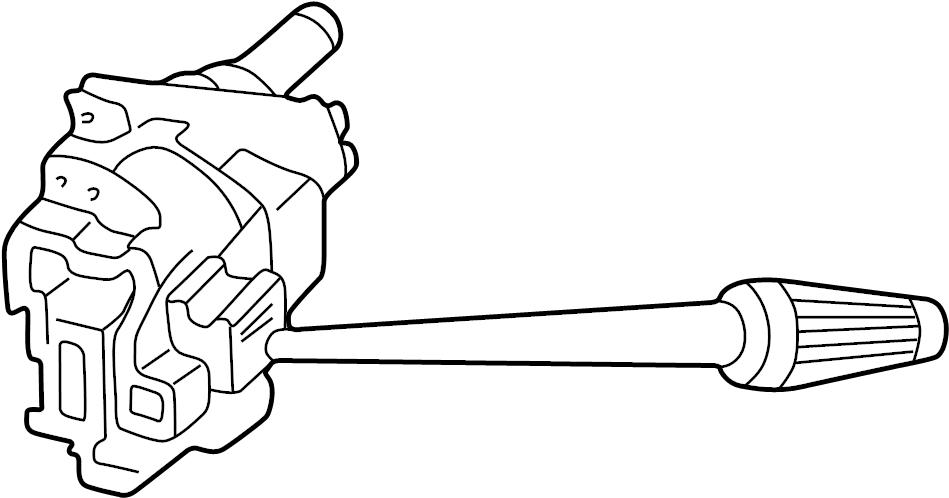 Mazda B3000 Combination Switch. Wiper, WHEEL, TILT