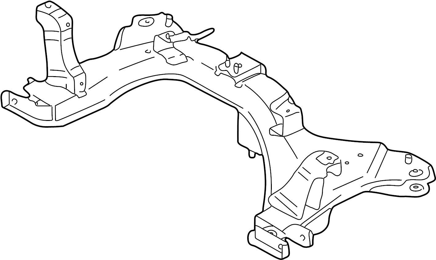 Mazda Tribute Crossmember Engine Cradle Can Not Order