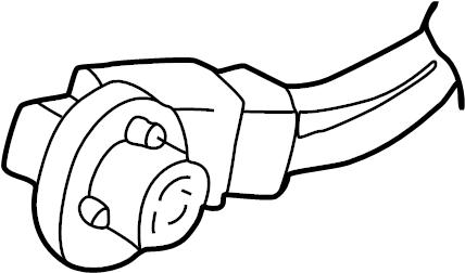 Mazda B3000 Socket. Bulb. 2001-04, park & brake. Stop