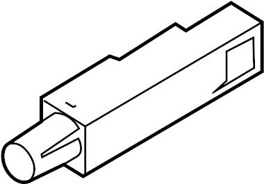 Mazda 3 Keyless Entry Antenna. Rear, Front, PartQualifier