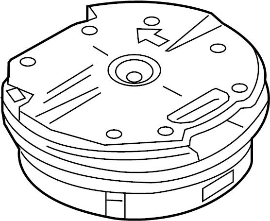 Mazda CX-5 Front dr speaker. Speaker. Front, Center. Audio