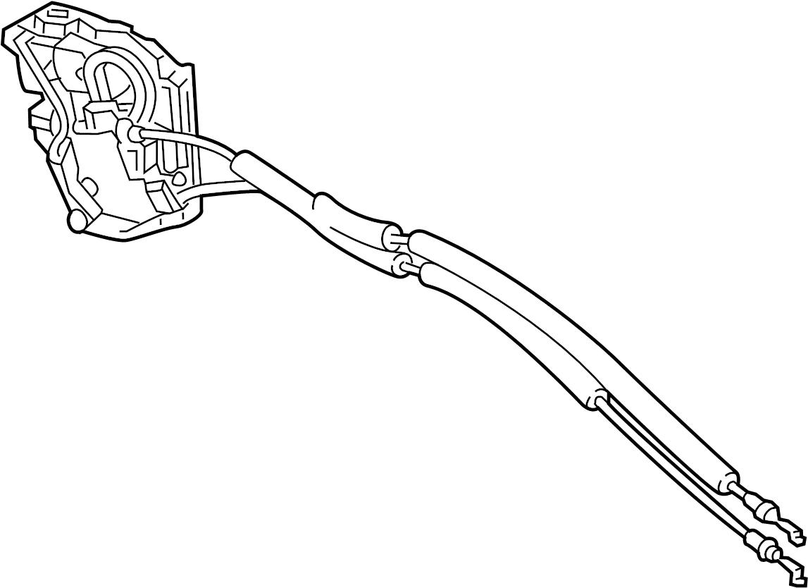 Mazda CX-9 Lock. Door. (Right). Anti, Theft, Actuator