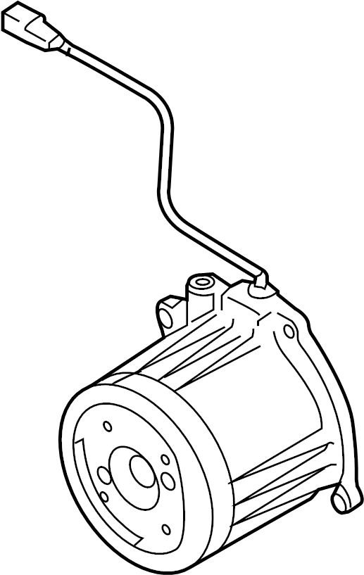 Mazda CX-9 Coupling. Included with: differential assembly