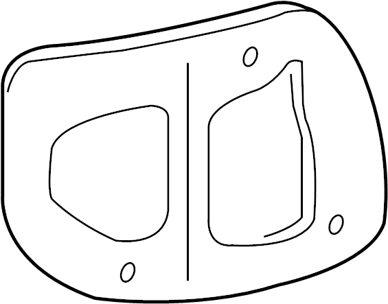 Mazda 3 Tail Light Gasket (Right). SEDAN. SEDAN, w/o LED